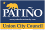 Patino for City Council logo