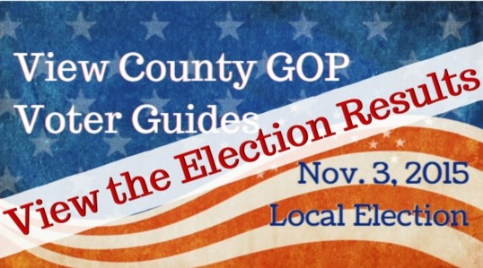 View GOP Voter Guides for Local Bay Area Elections